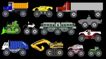 Monster Vehicles 2 - Monster Construction & Street Vehicles - The Kids' Picture Show