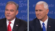 Kaine to Pence: You are Donald Trump's apprentice