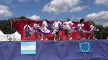 Festival de folklore d'Anjou et du monde à La Ménitré le 24 juillet 2016. Argentine