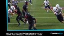 Un joueur de football américain remonte tout le terrain pour marquer le touchdown de l'année (vidéo)