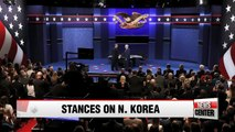U.S. Vice Presidential Candidates lock horns over N. Korean issues