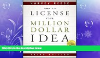 GET PDF  How to License Your Million Dollar Idea: Cash In On Your Inventions, New Product Ideas,