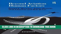 [PDF] Beyond Aviation Human Factors: Safety in High Technology Systems Popular Collection