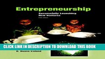 Collection Book Entrepreneurship: Successfully Launching New Ventures (5th Edition)