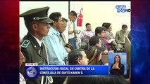 Instrucción fiscal en contra de la concejala de Quito Karen S.