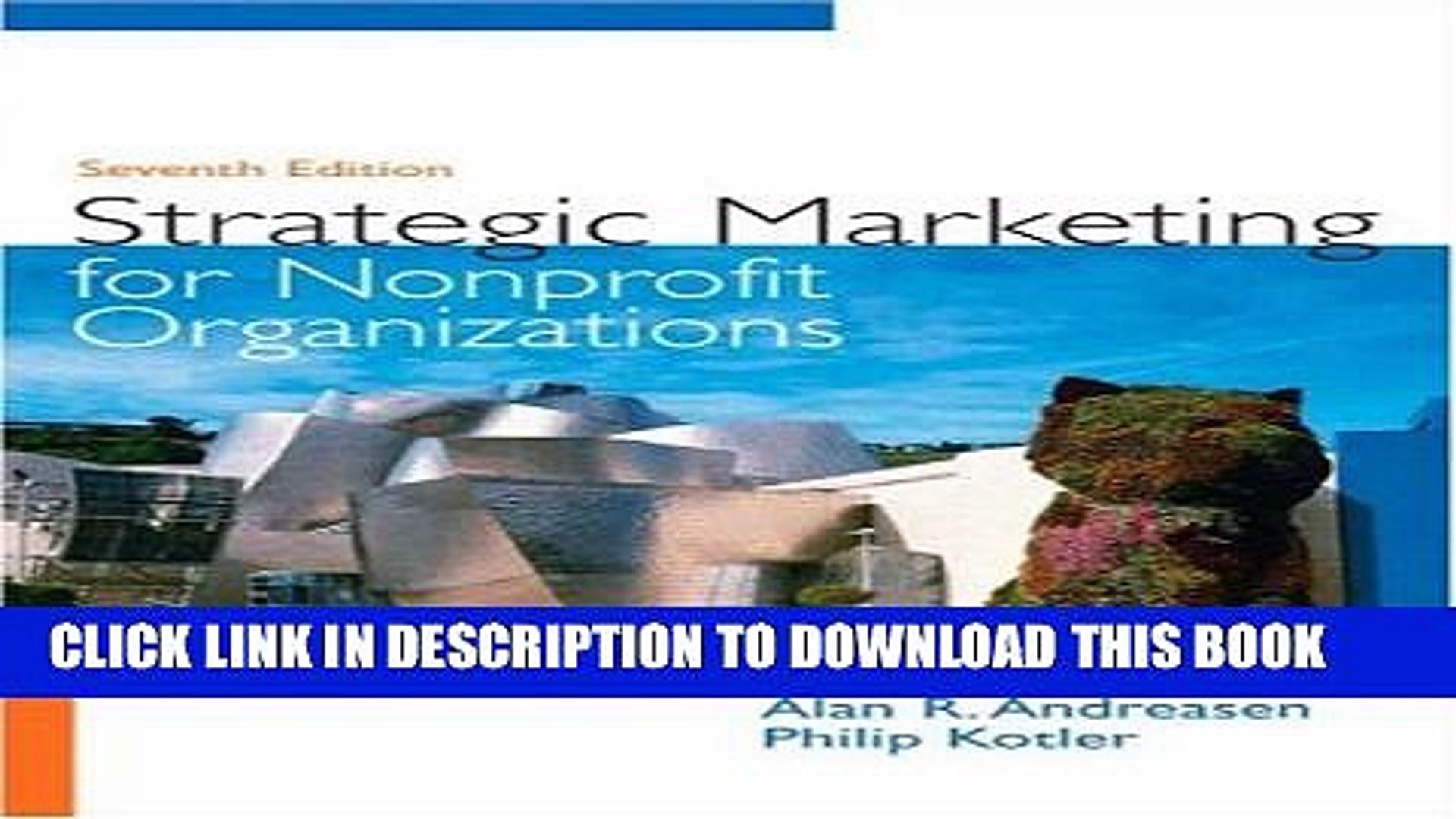 Collection Book Strategic Marketing for Non-Profit Organizations (7th Edition)