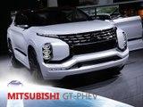 Mitsubishi GT-PHEV concept en direct du Mondial de Paris 2016