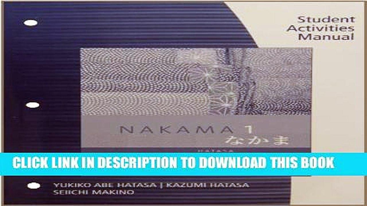 nakama 1 pdf download