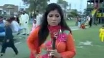[LOW] Pakistani woman Journalist clip becomes viral (1)