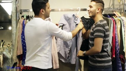 Shahveer Jafry - When GIRLS pick the same dress! -With ZAID ALI