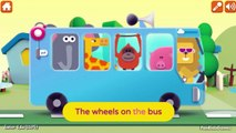 Wheels On The Bus Go Round And Round - Nursery Rhymes for Children with Lyrics | Faster and Faster