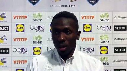 LSL - Créteil/Sélestat (30-24) Réaction Boïba Sissoko