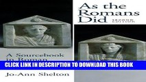 New Book As the Romans Did: A Sourcebook in Roman Social History, 2nd Edition
