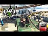 Epic Roller Coaster Ride On Bikes Cum Deathmatch ( GTA 5 Funny Montage )