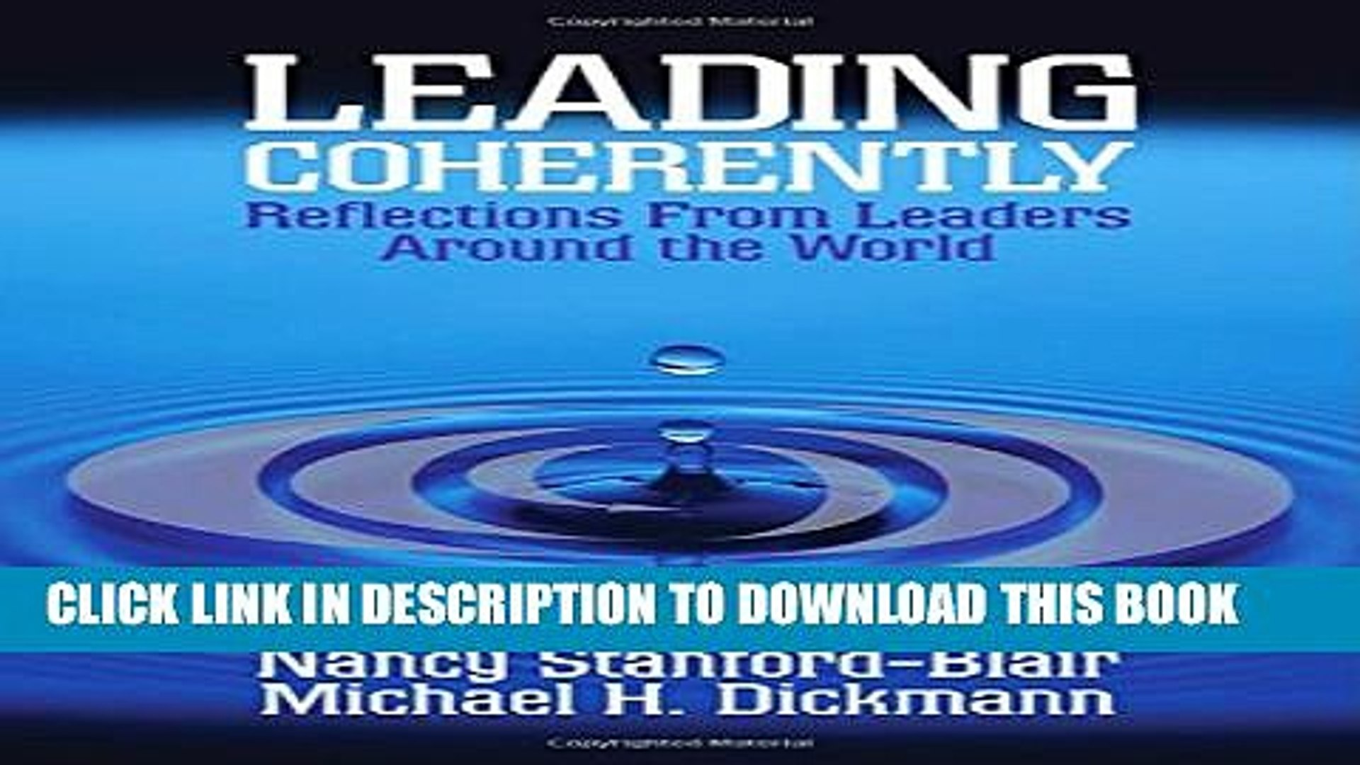 [PDF] Leading Coherently: Reflections From Leaders Around the World Popular Collection