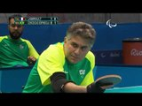 Table Tennis | FRA v BRA | Men's Team Semifinals Class 1/2 M2 | Rio 2016 Paralympic Games