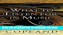 [PDF] What to Listen for in Music (Signet Classics) Popular Online