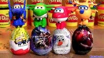 SUPER WINGS 출동 슈퍼윙스 Disney SURPRISE EGGS 디즈니 계란 장난감 서프라이즈 SpongeBob 겨울왕국