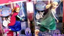 Disney Frozen Ice Skating Elsa & Ice Skating Princess Anna Set Dolls by Disneycollector