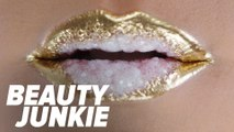 Watch as One Woman Re-Creates Instagram's Geode Lip Trend IRL