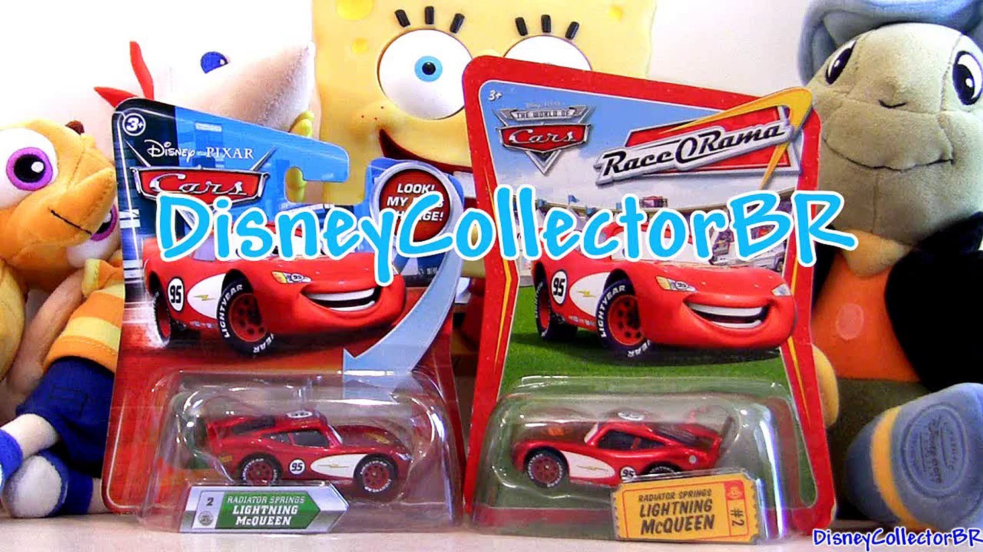 Lightning Mcqueen With Lenticular Eyes 2 Radiator Springs Disney