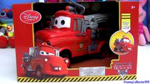 Cars Toons Fire Truck Mater From Rescue Squad Mater Disney Pixar Maters tall tales Red