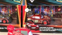 Disney Pixar Cars 10 New Car unboxing with Neon Lightning McQueen, Heavy Metal Lighnting and more