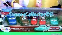 Flos V8 Cafe 5-pack Cars Disney Pixar TRU Toysrus Waitress Mia Tia - Flo with tray diecast
