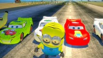 Minions COLORS ♦ Spiderman COLORS ♦ Lightning McQueen Cars COLORS w/ Kids Songs ♪♫