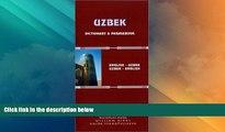Big Deals  Uzbek-English/English-Uzbek Dictionary and Phrasebook: Romanized (Hippocrene