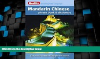 Must Have PDF  Berlitz Mandarin Chinese Phrase Book   Dictionary  Best Seller Books Best Seller