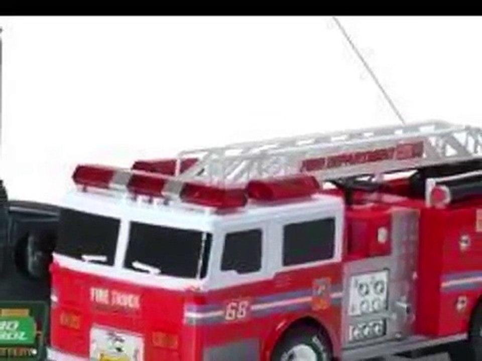 Camiones De Bomberos Juguetes De Control Remoto Dailymotion Video