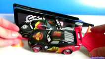 Cars Carbon Racers Rip N Release NEW 2016 Pull Rip Stick and Watch Lightning McQueen Race