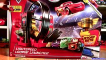 Disney Cars 2 Lightspeed Loopin Launcher From Story Sets Disney Pixar Cars Winners Circle 2016