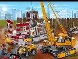 LEGO City Le Chantier de Démolition Jouet Pour Les Enfants