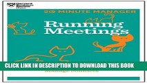 [Read PDF] Running Meetings (HBR 20-Minute Manager Series) (20 Minute Manager) Ebook Online