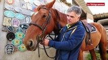 Morlaix. Rencontre avec un participant au concours d'équitation de Langolvas