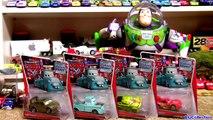 11 New Cars John Lasseter Nancy Lassetire new Mach Matsuo Tokyo Mater Disney Pixar Cars Toons
