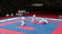 Team Kata VIETNAM. Kata Paiku. 2014 World Karate Championships.-XpIiyky6jWA