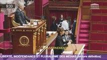Liberté, indépendance et pluralisme des médias – dernière lecture de la PPL à l'Assemblée nationale – 6 octobre 2016