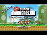 Let's Play New Super Mario Bros. Wii - Episode 9 - With Bryan, Leo And Alex