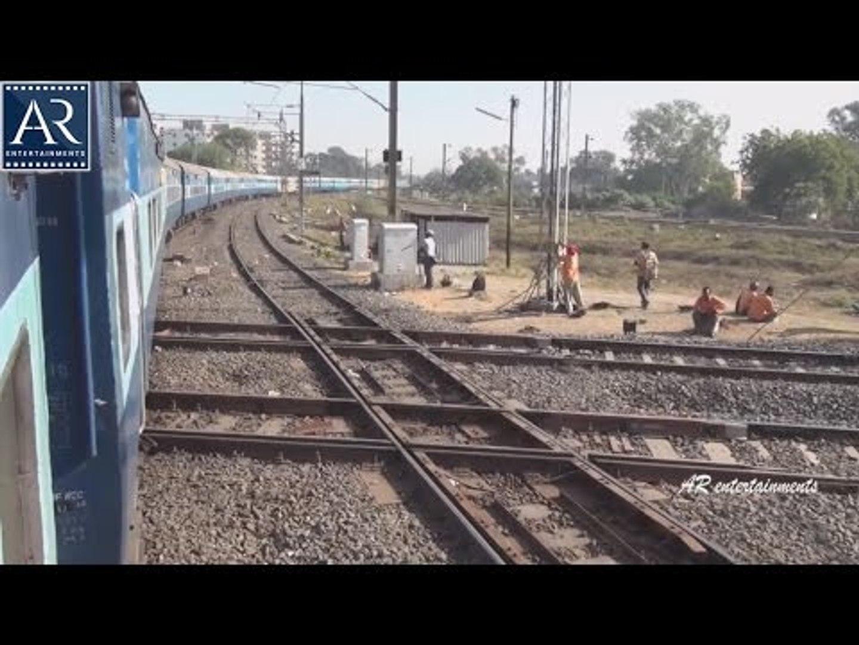 Encounter with Diamond Crossing in India at Nagpur Junction, Maharashtra | AR Entertainments