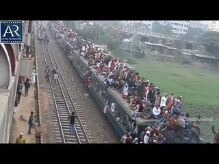 Dangerous Train Rides by Village Peoples in India | AR Entertainments