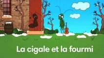 Sidney Oliver - La Cigale et la Fourmi - Les Fables de La Fontaine
