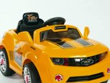 Coches Juguetes Para Montar Kids Camaro Style Ride On Car Remote Control Electric Powered Wheels MP3