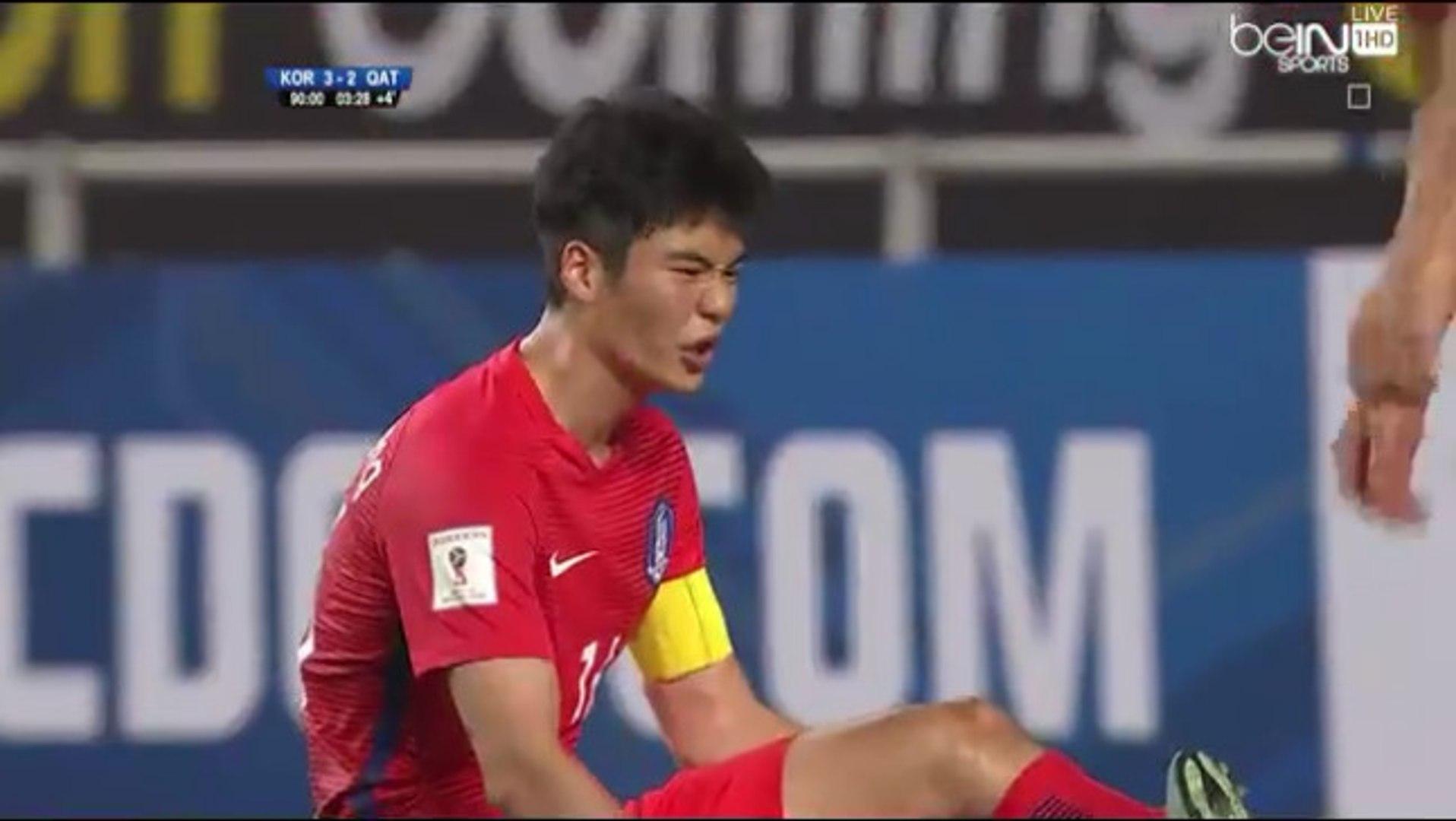 South Korea 3-2 Qatar - All Goals Exclusive (06/10/2016)