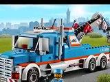 Lego City La Remorqueuse De Camion, Jouet Camion Pour Les Enfants