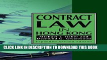 [PDF] Contract Law in Hong Kong (Hong Kong University Press Law Series) Exclusive Online