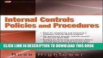 [PDF] Internal Controls Policies and Procedures Popular Online