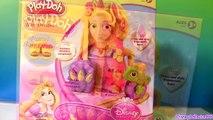 Play Doh Princess Rapunzel Hair Designs Playset From Disney Tangled Fuzzy Hair Playdough